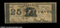 Obsoletes By State:Ohio, Urbana, OH- The Urbana Bank 25¢ June 1, 1837 G40