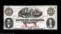 Obsoletes By State:Tennessee, Clarksville, TN - Bank of America $20, $50, $100 G64a, UNL,... (3 notes)