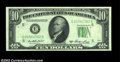 Error Notes:Inverted Reverses, Fr. 2011-E $10 1950A Inverted Reverse Federal Reserve Note. ...