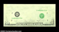 Error Notes:Missing Face Printing (<100%), Fr. 2122-G $50 1985 Federal Reserve Note. Gem Crisp ...
