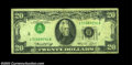Error Notes:Inverted Third Printings, Fr. 2071-B $20 1974 Federal Reserve Note, Very Good-Fine. ...