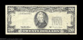Error Notes:Third Printing on Reverse, Fr. 2081-D $20 1995 Federal Reserve Note. Very Fine. The ...