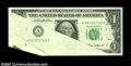 Error Notes:Major Errors, Fr. 1913-A $1 1985 Federal Reserve Note. About Uncirculated.