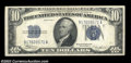 Small Size:Silver Certificates, Fr. 1703 $10 1934B Silver Certificate. Crisp Uncirculated.