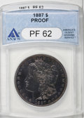Proof Morgan Dollars, 1887 $1 PR62 ANACS....