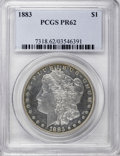 Proof Morgan Dollars, 1883 $1 PR62 PCGS....