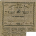Confederate Notes:Group Lots, Ball 241 Cr. 122 Bond $1000 1863. . ...