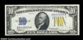 Small Size:World War II Emergency Notes, Fr. 2309 $10 1934A North Africa Silver Certificate. Gem ...