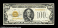 Small Size:Gold Certificates, Fr. 2405 $100 1928 Gold Certificate. Very Fine.