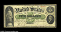 Large Size:Demand Notes, Fr. 3 $5 1861 Demand Note Choice Fine. Flawless for the ...