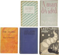 Books:First Editions, Olaf Stapledon. Five First Editions, One Previously Owned by HarlanEllison,... (Total: 5 Items)