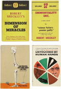 Books:First Editions, Robert Sheckley. Four First Editions,... (Total: 4 Items)