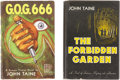 Books:First Editions, John Taine [pseudonym of Eric Temple Bell]. Two Signed andNumbered, Limited First Editions, including: The Forbidde...(Total: 2 Items)