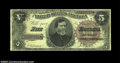Large Size:Treasury Notes, Fr. 359 $5 1890 Treasury Note Choice Fine. A nice solid, ...