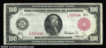 Large Size:Federal Reserve Notes, Fr. 1083b $100 1914 Red Seal Federal Reserve Note Extremely ...
