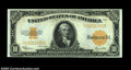 Large Size:Gold Certificates, Fr. 1173 $10 1922 Gold Certificate Very Choice New. A near-...