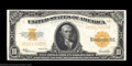 Large Size:Gold Certificates, Fr. 1173 $10 1922 Gold Certificate Choice New. A well ...