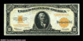 Large Size:Gold Certificates, Fr. 1173 $10 1922 Gold Certificate Extremely Fine. A ...