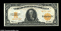 Large Size:Gold Certificates, Fr. 1173 $10 1922 Gold Certificate Star Note Extremely Fine.