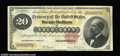 Large Size:Gold Certificates, Fr. 1178 $20 1882 Gold Certificate About Very Fine. ...