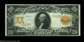 Large Size:Gold Certificates, Fr. 1181 $20 1906 Gold Certificate Choice New. A very ...