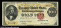 Large Size:Gold Certificates, Fr. 1211 $100 1882 Gold Certificate Very Fine. This Napier-...