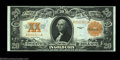 Large Size:Gold Certificates, Fr. 1187 $20 1922 Gold Certificate Choice New. A bit tight ...