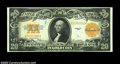 Large Size:Gold Certificates, Fr. 1187 $20 1922 Gold Certificate Choice New. Excellent ...