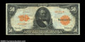 Large Size:Gold Certificates, Fr. 1199 $50 1913 Gold Certificate Choice Very Fine. A ...
