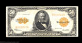 Large Size:Gold Certificates, Fr. 1200 $50 1922 Gold Certificate Very Fine. A bright, ...