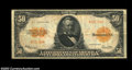 Large Size:Gold Certificates, Fr. 1200a $50 1922 Gold Certificate Very Fine. This is the ...