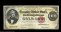 Large Size:Gold Certificates, Fr. 1207 $100 1882 Gold Certificate Choice Very Fine. A ...