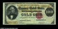 Large Size:Gold Certificates, Fr. 1209 $100 1882 Gold Certificate Choice Very Fine. A ...