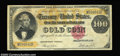 Large Size:Gold Certificates, Fr. 1214 $100 1882 Gold Certificate Extremely Fine. Good ...