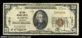 National Bank Notes:Colorado, Fleming, CO - $20 1929 Ty. 1 First NB Ch. # 11571