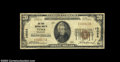 National Bank Notes:Colorado, Yuma, CO - $20 1929 Ty. 1 First NB Ch. # 10093
