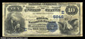 National Bank Notes:District of Columbia, Washington, DC - $10 1882 Date Back Fr. 542 The Riggs NB