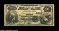 National Bank Notes:Kentucky, Carrollton, KY - $10 1882 Value Back Fr. 577 The First ...