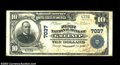 National Bank Notes:Kentucky, Greenup, KY - $10 1902 Plain Back Fr. 624 The First NB ...