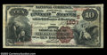 National Bank Notes:Kentucky, Harrodsburg, KY - $10 1882 Brown Back Fr. 484 The First ...