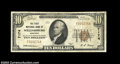 National Bank Notes:Kentucky, Williamsburg, KY - $10 1929 Ty. 1 The First NB Ch. # ...