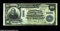 National Bank Notes:Maine, Lewiston, ME - $10 1902 Plain Back Fr. 631 The ...