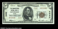 National Bank Notes:Maine, Lewiston, ME - $5 1929 Ty. 2 The Manufacturers NB Ch. #...