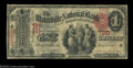 National Bank Notes:Maine, Waterville, ME - $1 1875 Fr. 384 The Waterville NB Ch. ...
