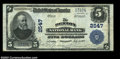 National Bank Notes:Maryland, Denton, MD - $5 1902 Plain Back Fr. 607 The Denton NB ...
