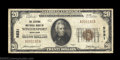 National Bank Notes:Maryland, Westernport, MD - $20 1929 Ty. 1 The Citizens NB Ch. # ...