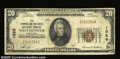 National Bank Notes:Maryland, Westminster, MD - $20 1929 Ty. 1 Farmers & Mechanics NB
