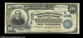 National Bank Notes:Maryland, Williamsport, MD - $10 1902 Date Back Fr. 617 The ...