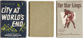Books:First Editions, Edmond Hamilton. Three Classic Hamilton First Editions, One Signed,including:... (Total: 3 Items)
