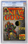 Bronze Age (1970-1979):Superhero, The New Gods #1 (DC, 1971) CGC NM- 9.2 Off-white to white pages....